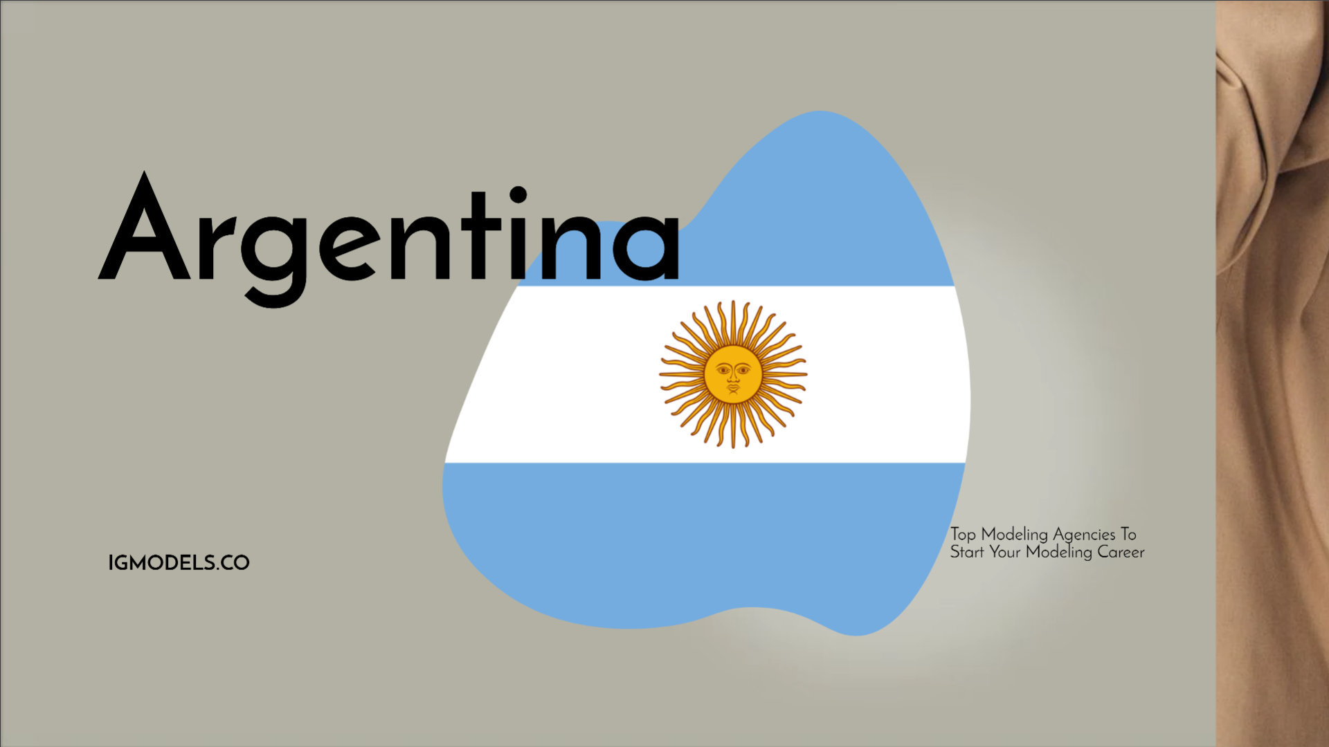 List : Top 35 Modeling Agencies In Argentina To Start Your Modeling Career In 2021