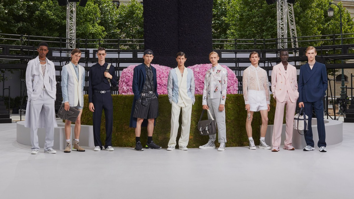 Does Kim Jones have his own brand?