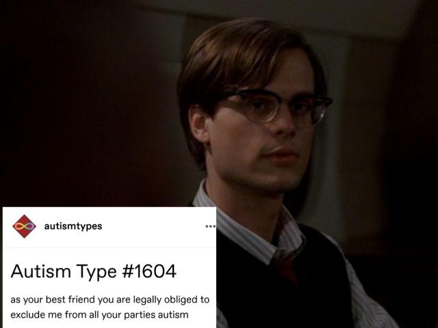 Is Spencer Reid autistic?