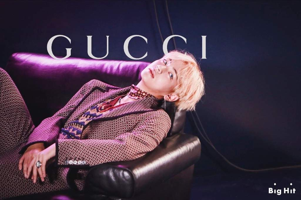 Is Taehyung a Gucci model?