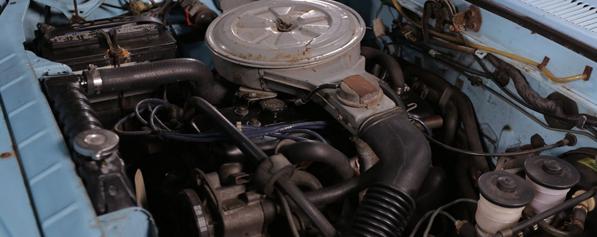 What engine is in a 1980 Chevy Luv?