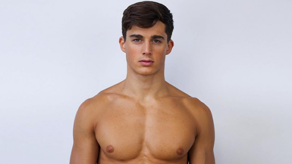 Who is the No 1 male model in the world?