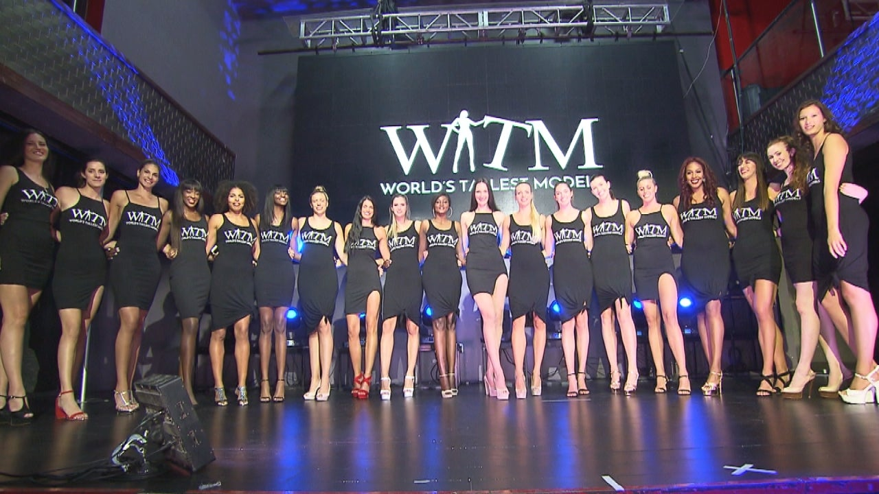 Who is the tallest girl model in the world?